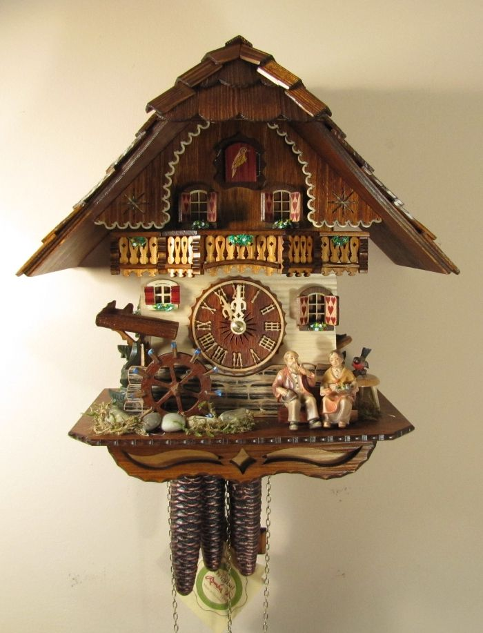 320 best reloj cu cu kuckucksuhr cuckoo clock images on pinterest cuckoo clocks black forest. Black Bedroom Furniture Sets. Home Design Ideas
