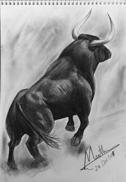 #sketch #charging_bull #bull