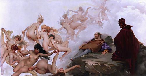 Faust's Vision by Luis Ricardo Falero