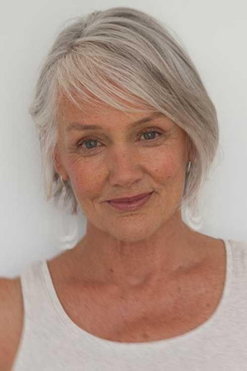 Cindy Joseph Short Haircut for Older Women