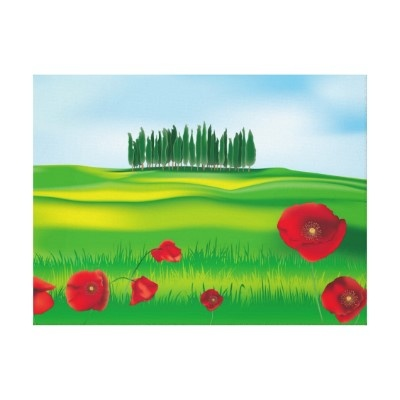 Art Canvas Tuscany Canvas Prints  $78.25