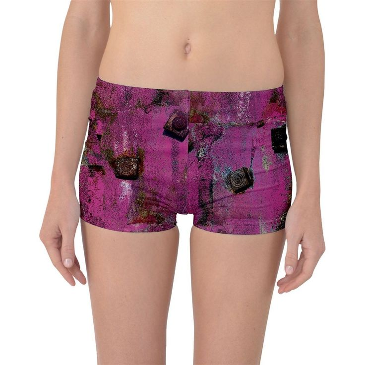 Pink Bolts Boyleg Bikini Bottoms   Made from 90% Polyester, 10% Spandex Soft, stretchy, lightweight and quick drying fabric Standard fit Machine Washable