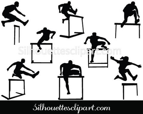 29 best SPORTS SILHOUETTE images on Pinterest