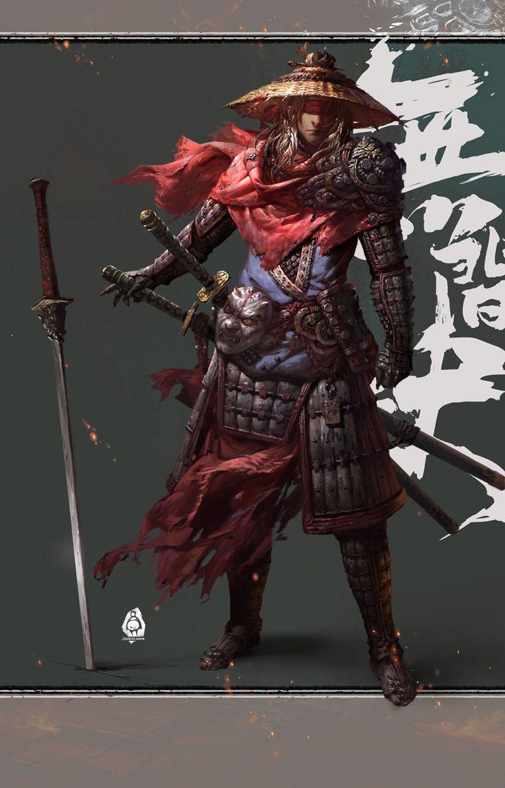 无间狱, jing yin on ArtStation at https://www.artstation.com/artwork/lyyeJ