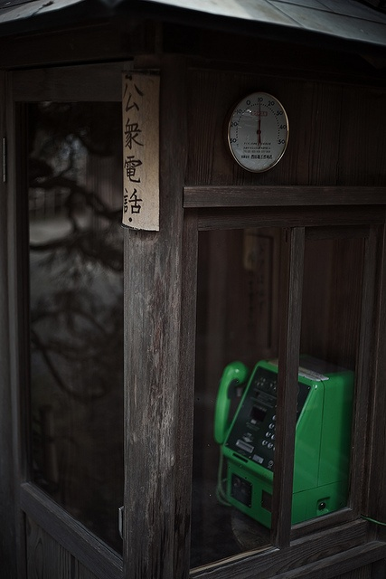 Japanese telephone booth in Kyoto Travel Japan multicityworldtravel.com