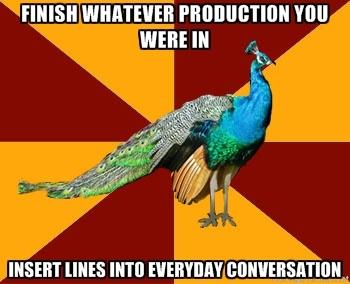 Thespian Peacock @Emma Zangs Zangs Hall @Olivia García García Fancher @Maureen Mills Mills Cotter