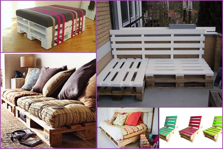 What a great, inventive and inexpensive way to furnish your patio. Any idea where you can pick up some cheap pallets?