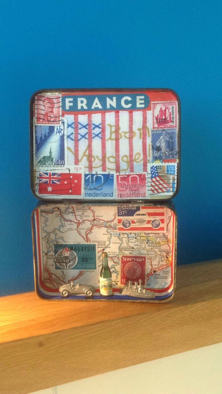 A personal favourite from my Etsy shop https://www.etsy.com/uk/listing/563153862/story-tin-bon-voyage-mixed-media-altered