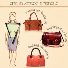 Handbags for Inverted Triangle Body