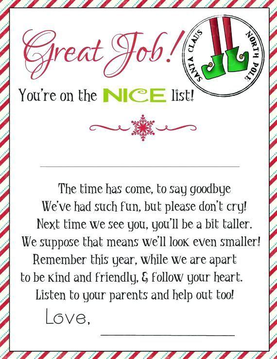elf on the shelf letter template printable magic elf goodbye letter 2 or intended for elf on the shelf goodbye letter elf on the she