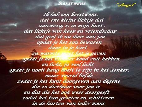 Kerstwens   punt.nl: Je eigen gratis weblog, gratis fotoalbum, webmail, startpagina enz