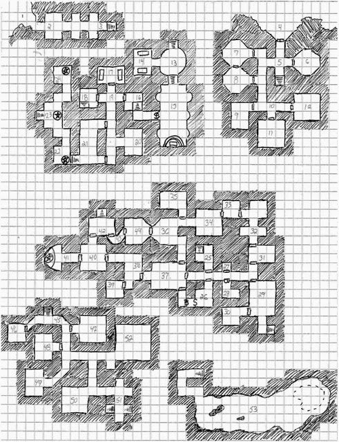 Tower of the Archmage: map | Fantasy Dungeons | Dungeon maps
