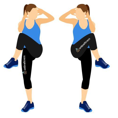 Měsíční tréninkový plán pro pevnější břicho a shození přebytečných kilogramů | Blog | Online Fitness