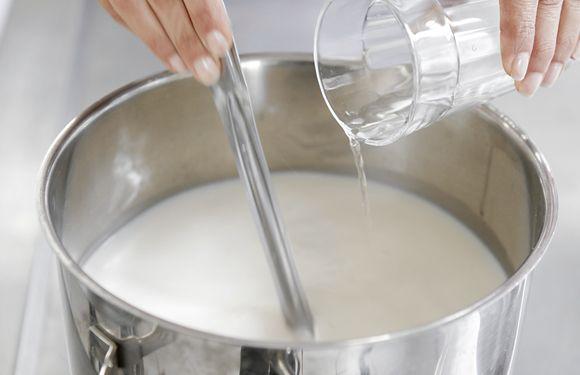 Solo se necesita leche y cuajo para hacer quesos como los que a diario elabora cerca de Santiago Ester Hernández en su empresa familiar Lácteos Naturales Santa Ester. Aquí, comparte un par de secretos para replicar en casa su receta de ricota y queso fresco.