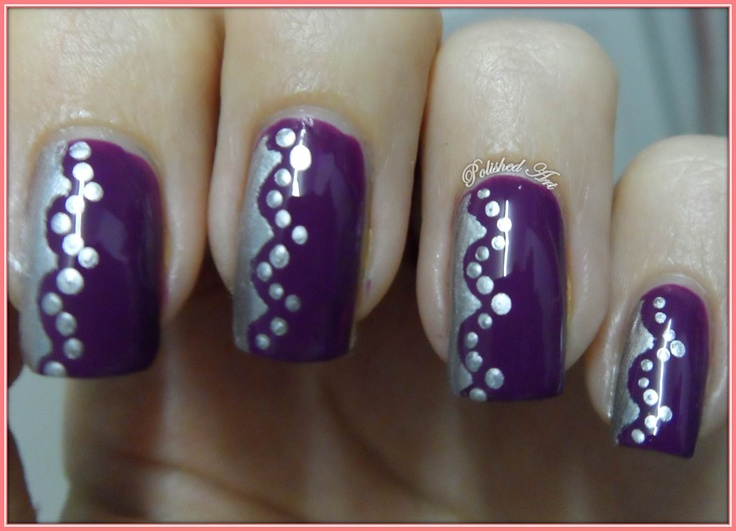 Polished Art: 31 Day Challenge - Day 6: Violet