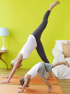 8 yoga poses to do with kids - Great Twinkle Twinkle song/movement suggestion