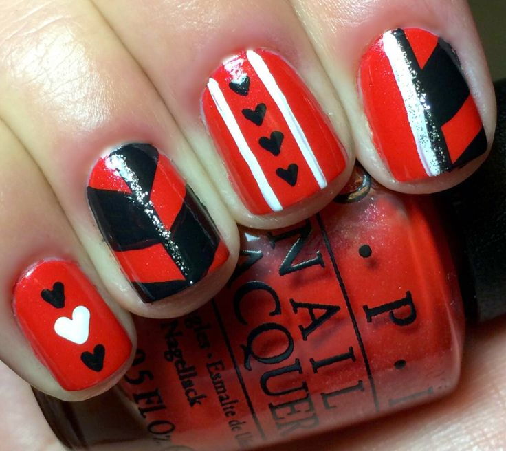Nails by an OPI Addict:  Queen of Hearts Inspiration