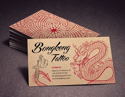 "Check out this @Behance project: ""Tattoo Salon Business Card"" https://www.behance.net/gallery/26370473/Tattoo-Salon-Business-Card"