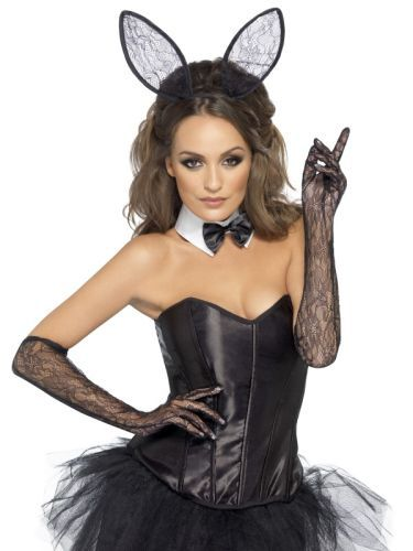 Fever Lace Bunny Kit (43942) | Costume Accessories | Instant Costume Kits