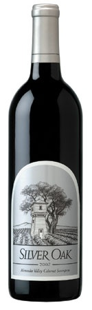 Silver Oak Alexander Valley Cabernet Sauvignon 2007 - tried at Ric's retirement party, very good
