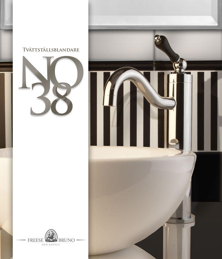 Tvättställsblandare no38,4 FREESE & BRUNO