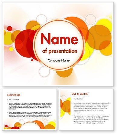 http://www.poweredtemplate.com/11578/0/index.html Bright Circles PowerPoint Template