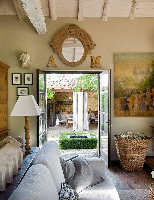 Inspiring French Country Interiors French Country Interiors Family Room Designinterior Decoratingdecorating