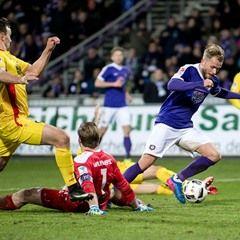 Bundesliga - Matchday 24 - FC Erzgebirge Aue vs Karlsruher SC