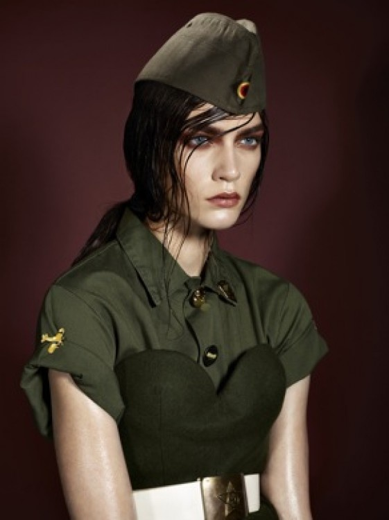 Javier Palacio - Hair - Serie Militaire - Christophe Meimoon