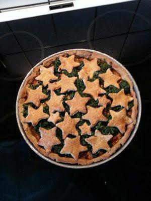 Karla's Cupcake: Forholdsvis sund kylling pie..