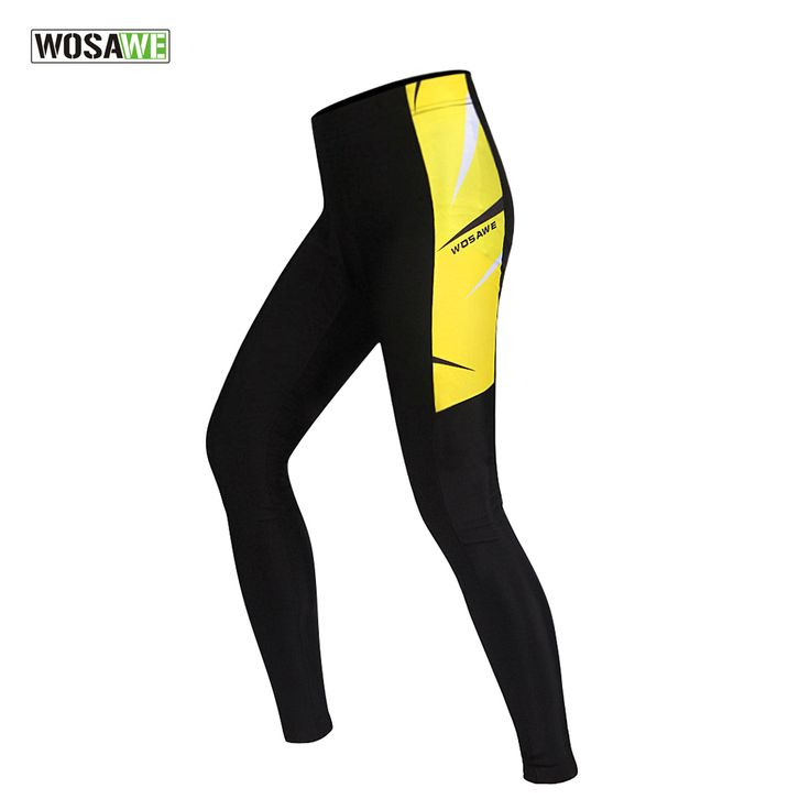 WOSAWE 3D Gel Padded Cycling Pants Spring Autumn Ropa Ciclismo Bicycle Bike Trousers Running Fitness Compression Tights For Men ** AliExpress Affiliate's buyable pin. Click the image to view the details on www.aliexpress.com #CyclingPants