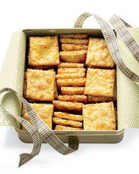 Oat-and-Cheddar Crackers Recipe