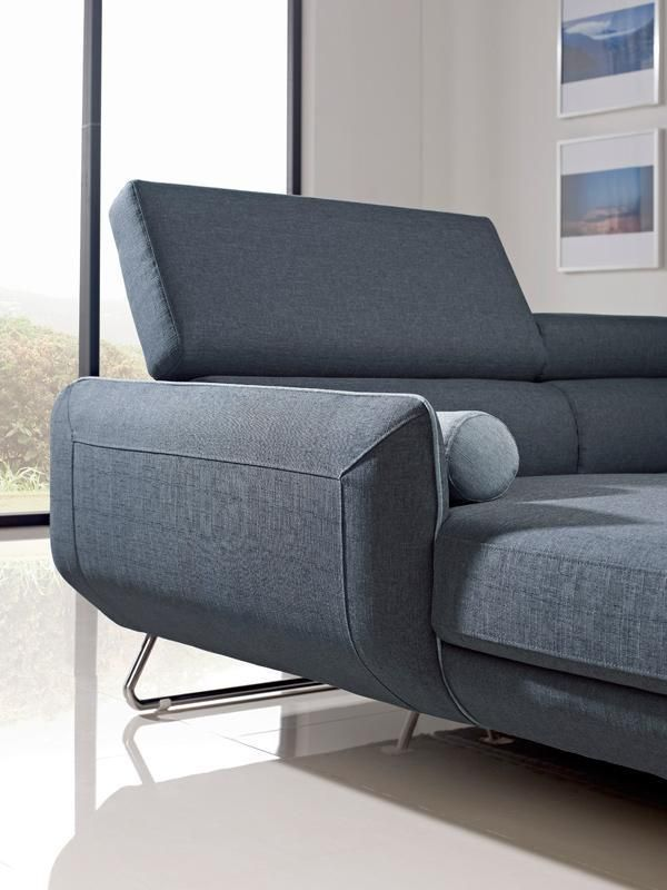Stylish Design Furniture - Divani Casa Pierce Modern Blue Fabric Sectional Sofa, $1,440.00 (http://www.stylishdesignfurniture.com/products/divani-casa-pierce-modern-blue-fabric-sectional-sofa.html?page_context=category