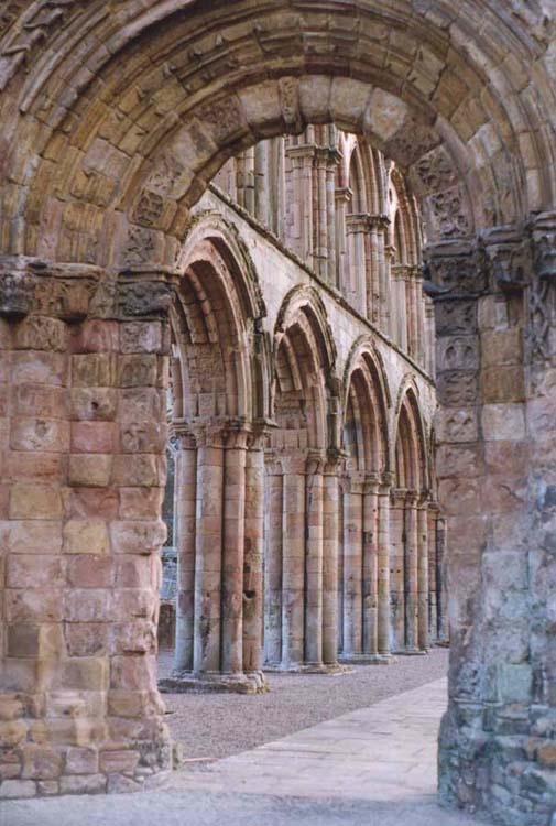 Ruins of Jedburgh Abbey, Borders, Scotland