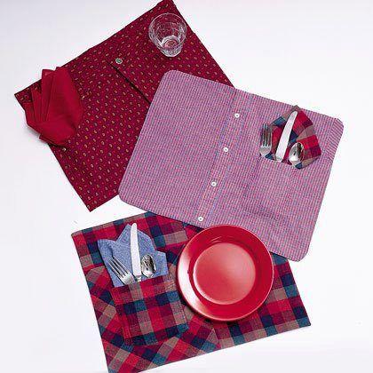 shirt pant placemats