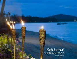 Koh Samui ~ Thailand      Avoca Travels Romantic Getaway Special  https://www.facebook.com/photo.php?fbid=407357796020121=pb.369549089800992.-2207520000.1360260865=3