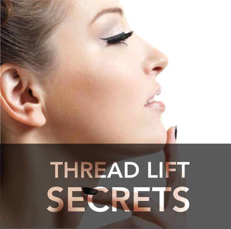 The secrets to thread lifts at Smileworks. Your none surgical face lift.