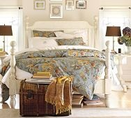 Cozy. Comfortable - love for a guest room!