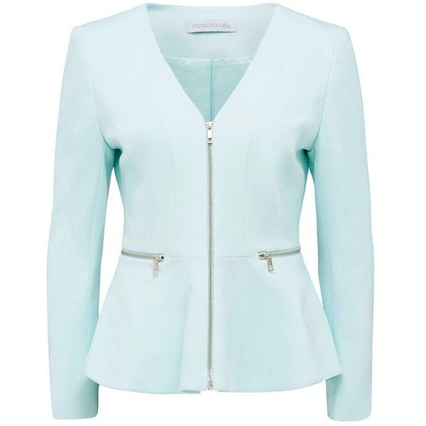 Forever New Zaria peplum jacket