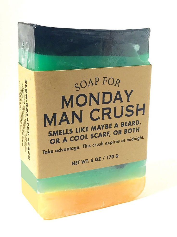 Soap for Monday Man Crush - NEW!