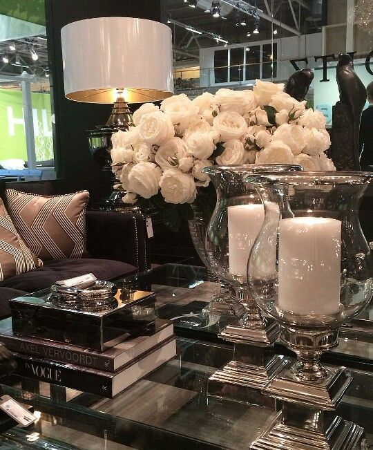 Absolutely Gorgeous! I love the candle holders. Also love the table but it would have kitty footprints on it so that will have to wait.