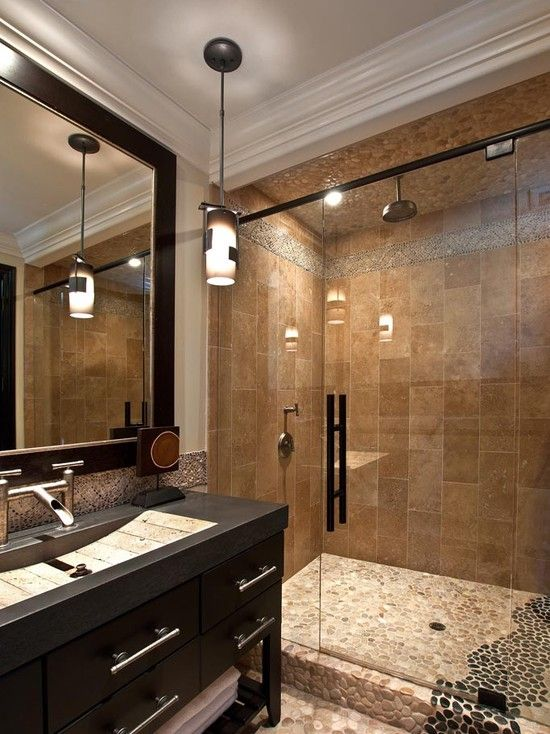 Mediterranean bathroom design for the home pinterest - Remodelacion de banos ...