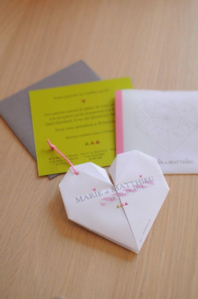 de Mariage Dorigami sur Pinterest  Décoration en origami, Crane de ...
