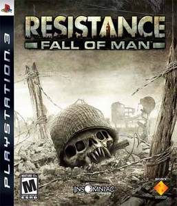 i finally get home and we're stuck on Resistance Fall of Man - PS3 luv