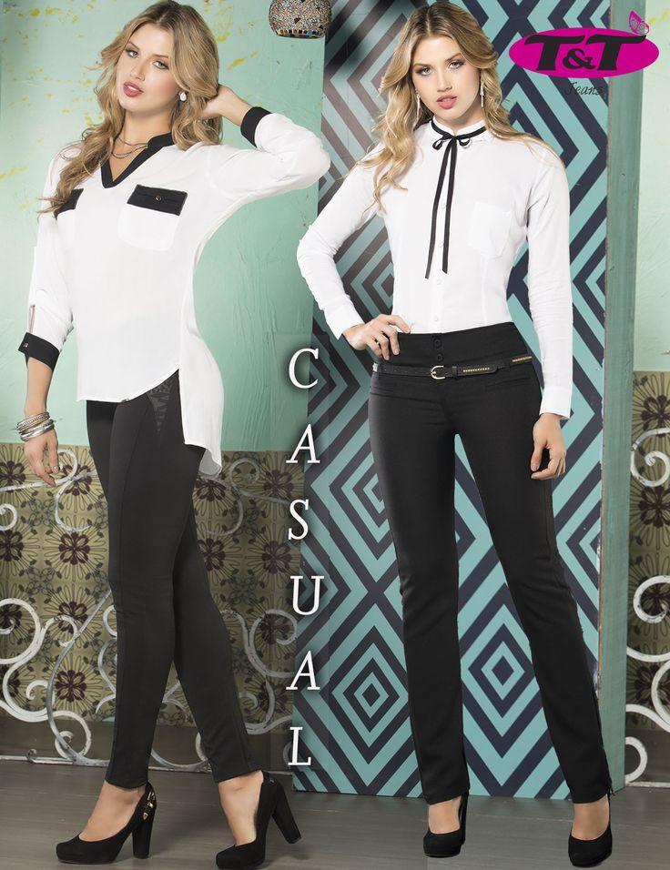 Blanco y negro, colores que no pueden faltar en tu closet