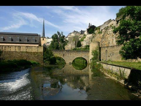 Luxembourg Ville en été