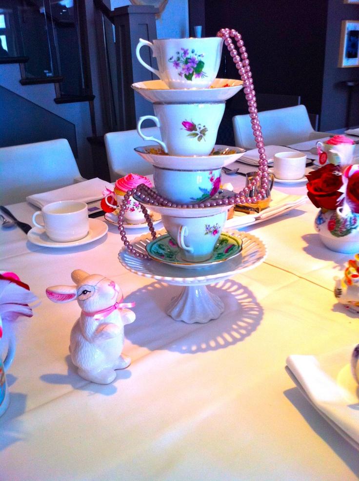 bridal shower teparty decorations%0A Alice in Wonderland Bridal Shower  Disney CenterpiecesWedding CenterpiecesHigh  TeaWedding