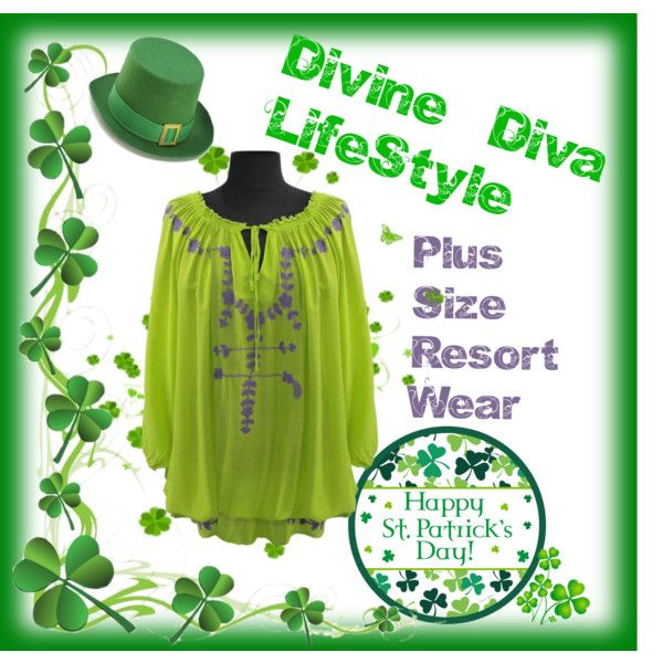 St.Patrick's Day! by divine-diva-resort-wear on Polyvore