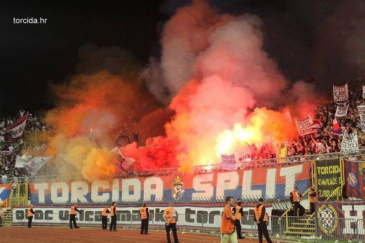 Una cartolina dalla Dalmazia; HNK Hajduk Split vs Lokomotiva #ultras