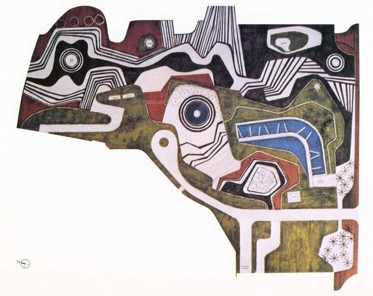 landscaping project by Roberto Burle Marx